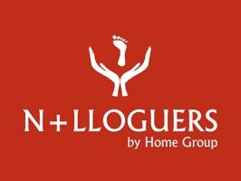 Stickers Creados para el departamento de alquileres de Home Group: Només Lloguers