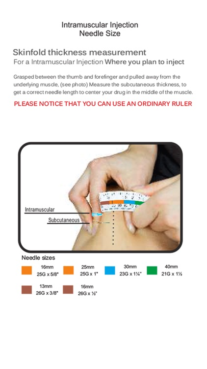 Intramuscular Injection Avoid Painful Injections by app-works dk