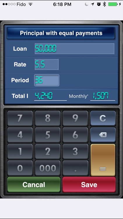 EZ Loan Calculator