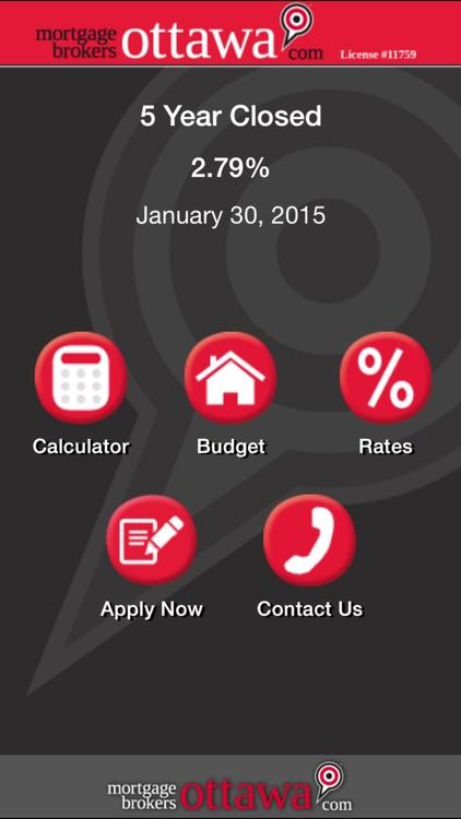 Mortgage Brokers Ottawa - Mortgage Calculator screenshot-4