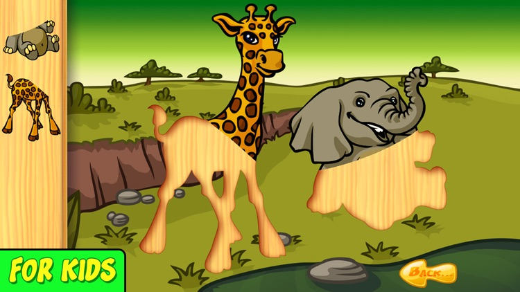 Animal Baby - Shape Puzzle for kids & toddlers screenshot-4