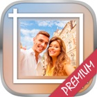 White frames for Insta & Square photo frame – Pro icon