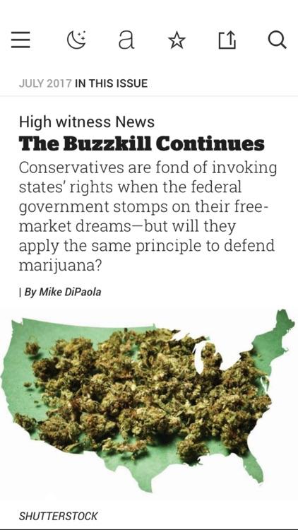 High Times Magazine screenshot-3