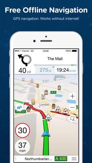 navi app iphone gps kostenlos