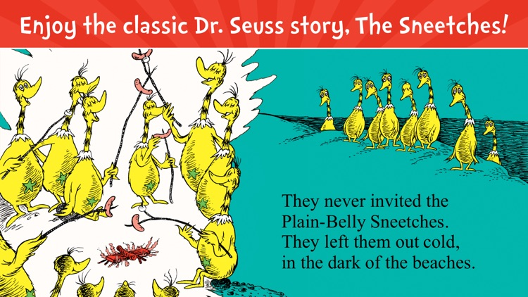 The Sneetches by Dr. Seuss screenshot-0