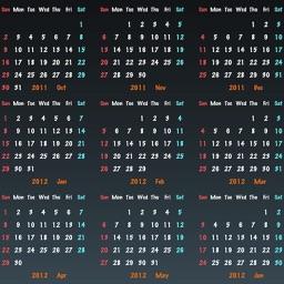 Year Calendar HD