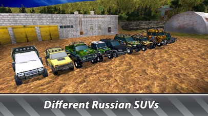 Russian SUV Offroad Simulator screenshot 4