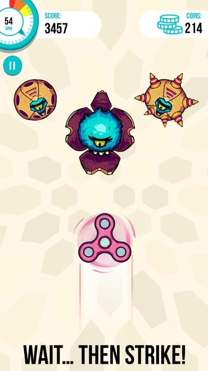 Spinners vs. Monsters screenshot-3