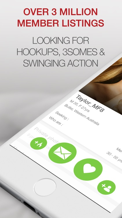 couple hookup app A new dating app that matches three people together is being touted as the tinder for threesomes according to its website, 3nder, pronounced 'threen-der', is geared towards 'all swingers, newbies, curious and experienced' who are 'discriminated by society the same way gay people were 15 years ago.