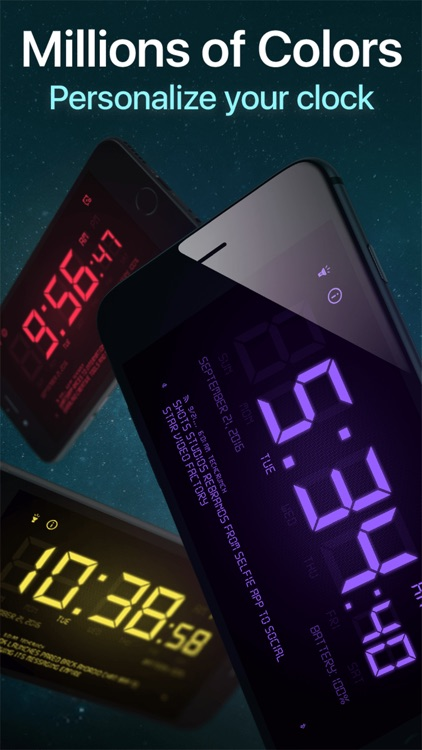 Alarm Clock HD - Digital Alarm Clock Display screenshot-3