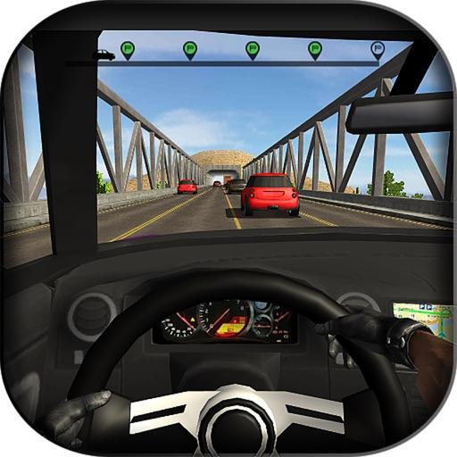 Highway Car Traffic Driver