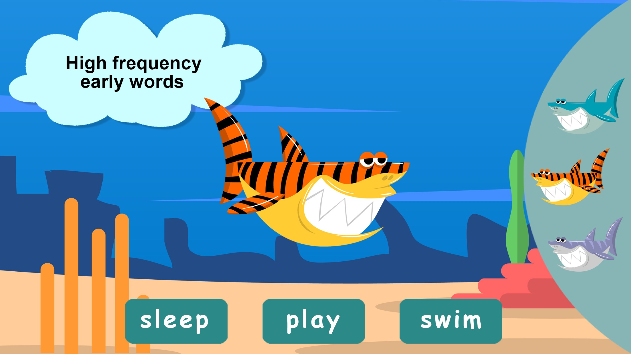 Hey Monster! English for Kids Screenshot