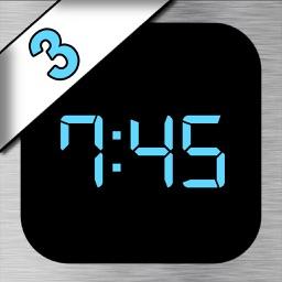 iDigital Big3 Alarm Clock - Largest Display Time