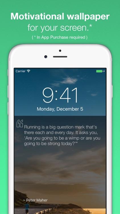 MilePost - Running Quotes, Motivation, Run Daily screenshot-4