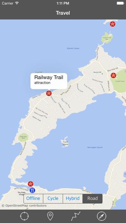 BERMUDA – GPS Travel Map Offline Navigator screenshot-4