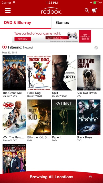 Redbox screenshot-0