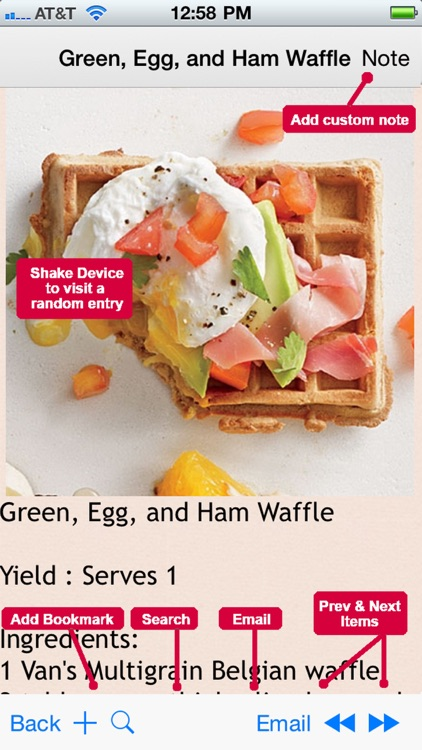 Amazing Waffle Recipes screenshot-3
