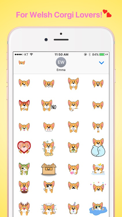 CorgiMOJI - Welsh Corgi Emoji & Stickers screenshot-3