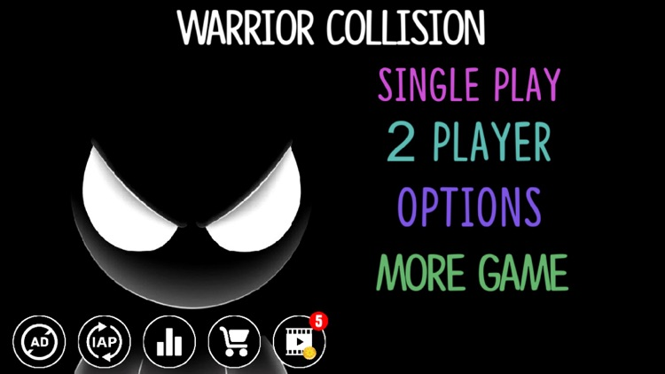 Warrior Collision - Without Gravity in the Arena screenshot-3