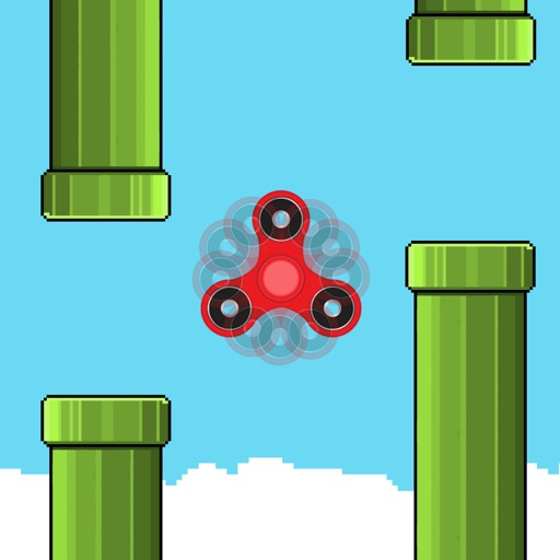 Flappy Fidget Spinner - Returns Classic Games