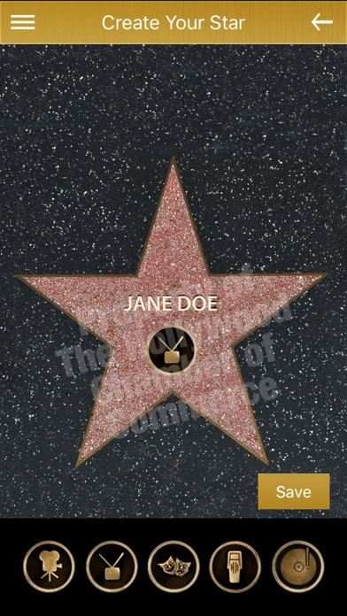Official Hollywood Walk of Fame screenshot