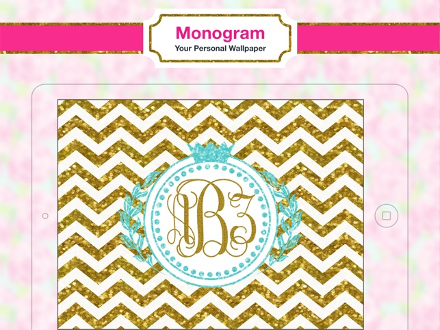 Monogram Wallpapers Background on the App Store