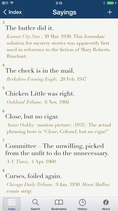Screenshot for The Yale Book of Quotations in United Kingdom App Store