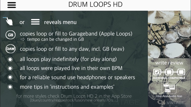 Drum Loops HD screenshot-0