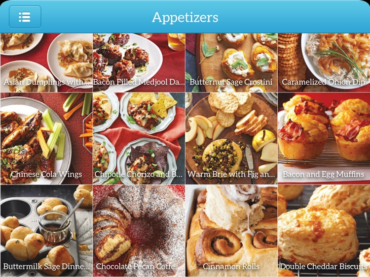 Holiday Recipes - Delicious Meals for iPad