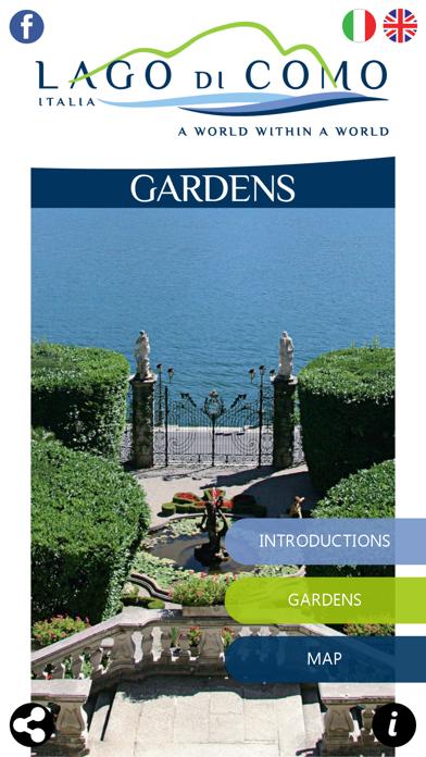 Gardens of Lake Como screenshot one