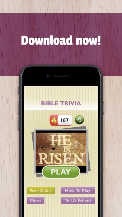 Free Bible Trivia App Game screenshot-4