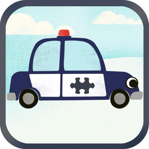 子どものための車ゲーム:ジグソーパズルHD