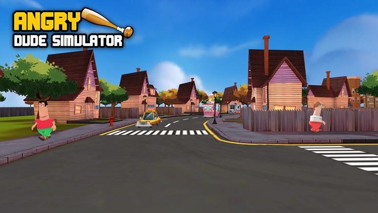 Angry Dude Simulator screenshot-4