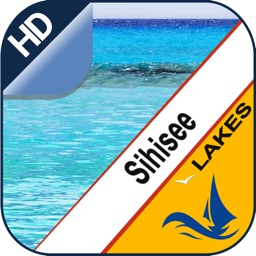 Lake Sihl gps offline nautical chart for cruising