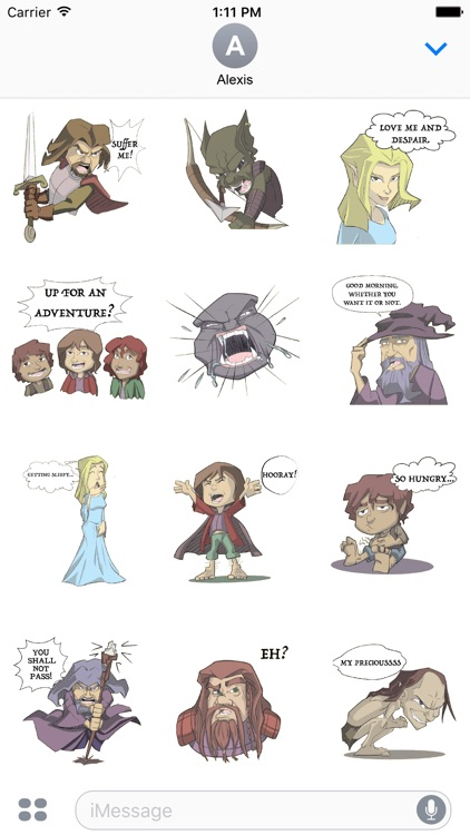 The Lord of the Rings - Illustrated Stickers