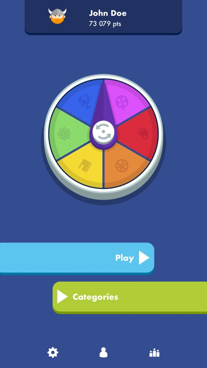 Trivial Quiz Pursuit Knowledge screenshot-0