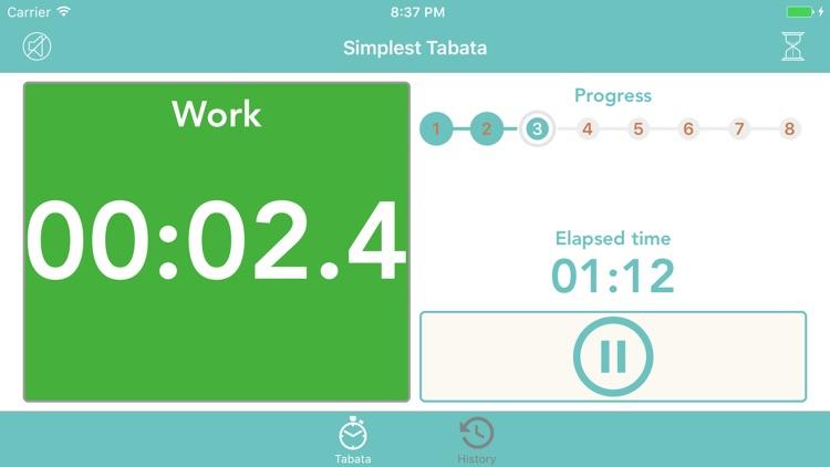 Simplest Tabata screenshot-4