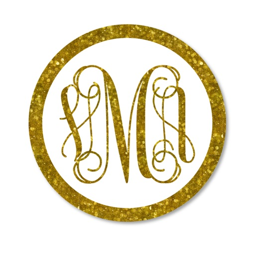 Monogram Luxe Wallpaper DIY Backgrounds