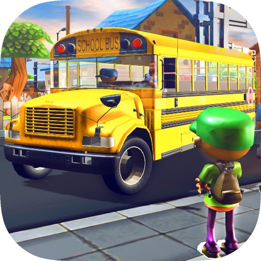 Kids School Bus - Driver Simulator 3D Game