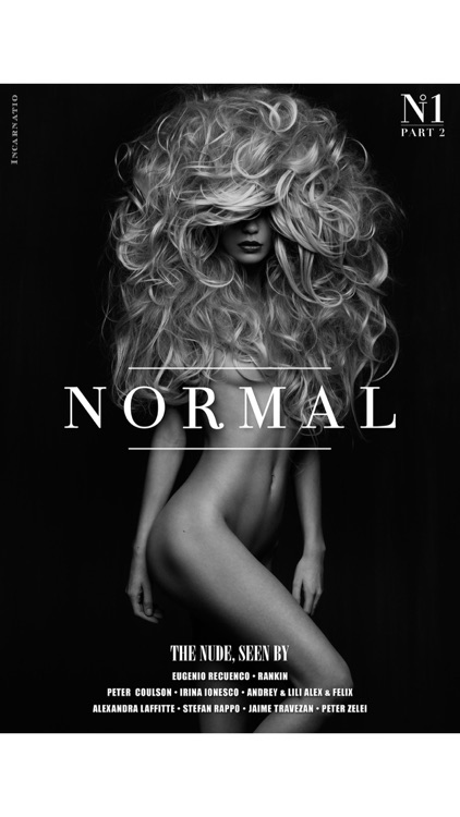NORMAL MAGAZINE - The best nudes by the best photographers