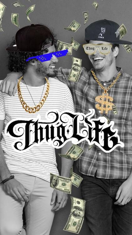 Thug Life Photo Stickers - Photo maker screenshot-4