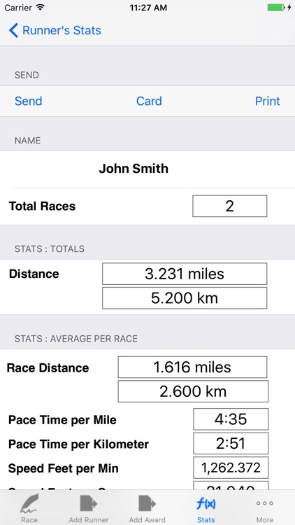 Running Logbook with Racing, Jogging, Pace Tracker screenshot-3