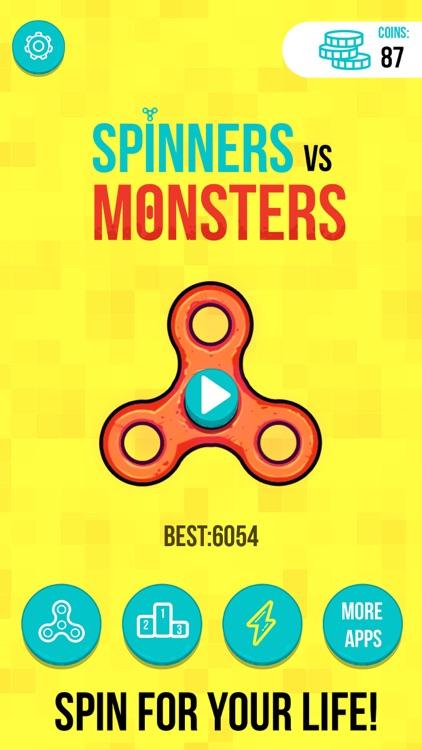 Spinners vs. Monsters screenshot-4