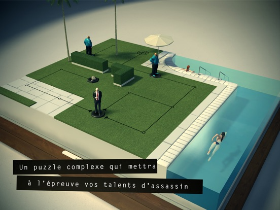 Screenshot #4 pour Hitman GO