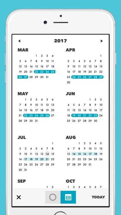 Cube Period Tracker screenshot-3