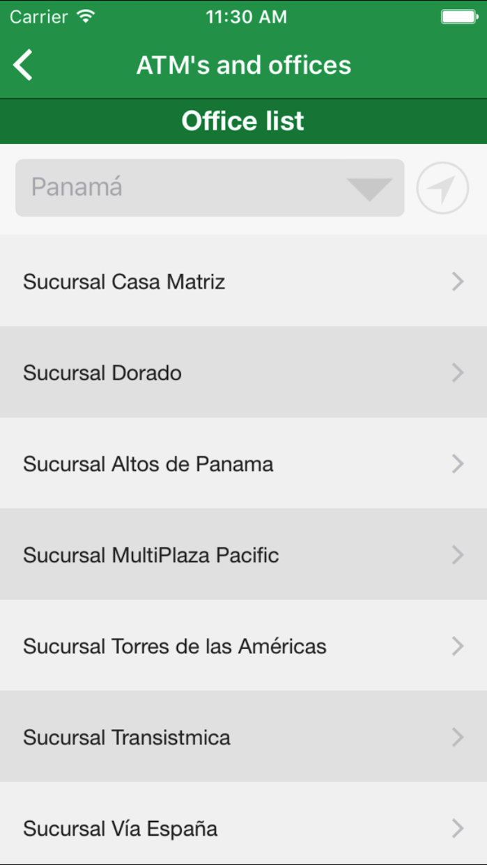 Credicorp Screenshot