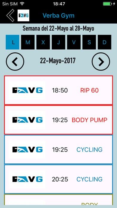 Verba Gym screenshot three