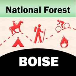 Boise National Forest – GPS Offline Map Navigator