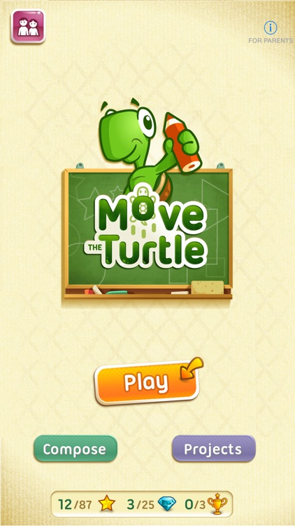 Move The Turtle. Programming For Kids