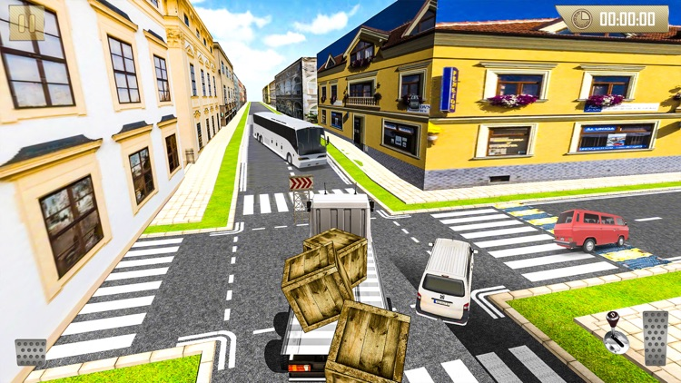 Real City Cargo Truck Drive 2017 screenshot-4